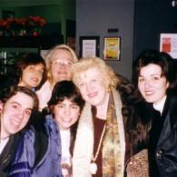 The Jonas family with SGM staff